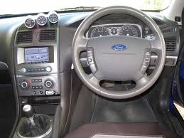 Ford Falcon Xr6 Interior 2003 Ba Ford Falcon Xls Ute