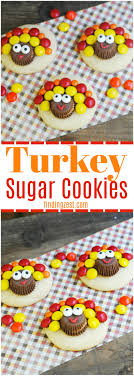 check out these adorable turkey sugar cookies for thanksgiving