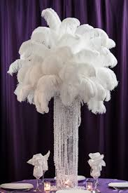ostrich feather centerpieces ostrich feather centerpiece rental weddings sweet 16 new jersey