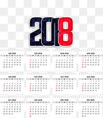 2018 calendar png images vectors and psd files free download