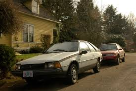 renault hatchback from the 1980s old parked cars 1983 renault fuego re registered and revisited