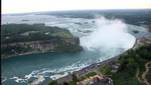 Skylon Tower Revolving Dining Room Skylon Tower Revolving Restaurant Niagara Falls Canada Youtube