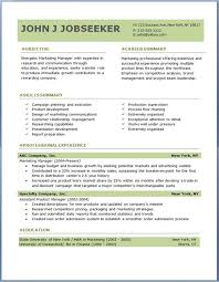 free download resume template best 20 resume templates free