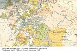 A New Map Of Jewish by Gersig Resources
