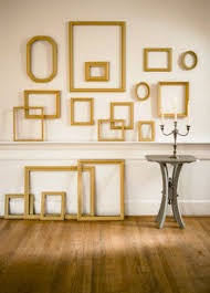 wood frame wall decor empty picture frames stylish wall decoration ideas