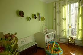 chambre enfant vert déco chambre enfant vert