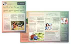 physicians office newsletters templates u0026 designs medical