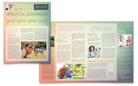newsletter templates indesign illustrator publisher word pages