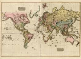 Mercator World Map by The World On Mercator U0027s Projection David Rumsey Historical Map