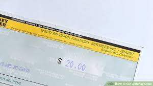 how to get a money order 15 steps with pictures wikihow