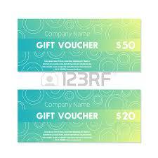 green gift voucher vector illustration vintage gift voucher design templates vector illustration royalty