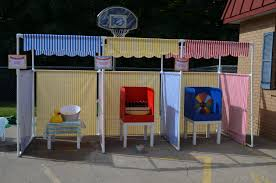 halloween carnival games carnival booth pvc frame plans diy carnival booths
