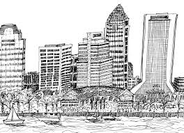 skyline drawing cliparts co