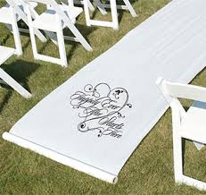 burlap wedding aisle runner wedding aisle runners personalized aisle runners