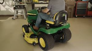 how to level a mower deck john deere x300 u0026 x500 lawn tractor
