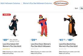 Walmart Halloween Costumes Girls Walmart Created Sized Amount Outrage