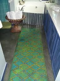 Painting A Bathroom Floor - painted concrete floors concrete floor paint tutorial