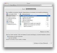 raccourci pour afficher le bureau mac centre de notification comment ajouter un raccourci