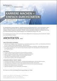 stellenmarkt architektur architekt in in biberach auf stellenmarkt direkt de