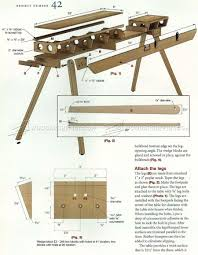 folding miter saw table plans u2022 woodarchivist
