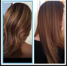 multi hair foil with layered bob sara s hair creations