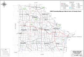 Missouri Road Map Mogenweb Project Clark Co Township Maps