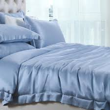 19 momme mulberry silk bedding set duvet cover sheets and