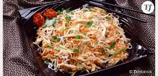 recette de cuisine minceur recette minceur trois idées de salade au poulet light terrafemina