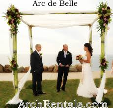 bamboo chuppah arc de wedding arch canopy rental part 8