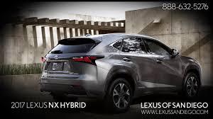 used lexus san diego ca 2017 lexus nx hybrid youtube
