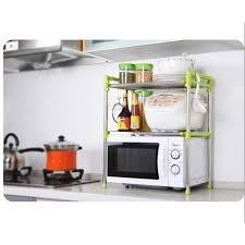 etagere telescopique cuisine cuisine étagère télescopique four micro ondes micro ondes plateau