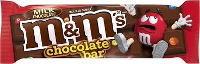 milk chocolate bar m m s products