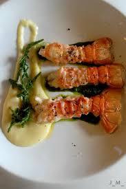 cuisiner les langoustines langoustines royales au poivre de selim purée onctueuse et