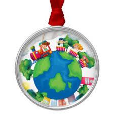 children around the world tree decorations baubles