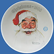 norman rockwell limited edition plates tias