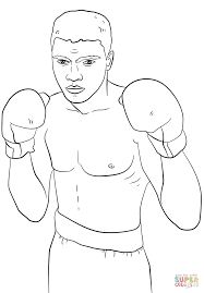 click the mike tyson coloring pages to view printable version or