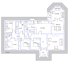 house plans bungalow ingenious ideas 9 floor plans for houses in ireland bungalow house