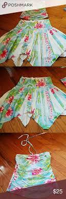 hawaiian pattern skirt hawaiian halter top and skirt set hawaiian designs skirt set and