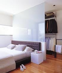 Bed Closet 45 Cool Ideas To Use Space Behind The Bed Shelterness