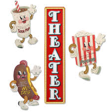 home theater nashua nh large dancing snacks vertical theater sign set steel home