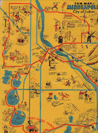 Lake Alan Henry Map Early Map Of The Minneapolis Area Showing Indian Paths Fort