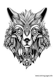 premium wolf hd quality coloring pages printable