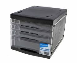 Office Desk Trays by Plastic Filing Drawers Ebay