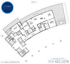 auberge beach floor plans living las olas 3 bedroom floor plans