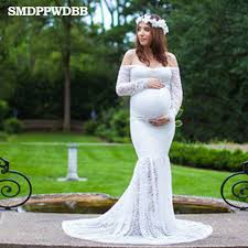 maternity photo props smdppwdbb lace maternity dresses maternity photography props white