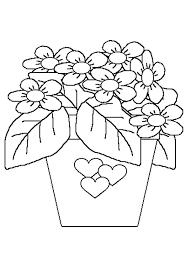 95 dessins de coloriage fleurs d u0027été à imprimer