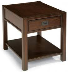 Oak Side Table Oak End Tables With Drawers Foter