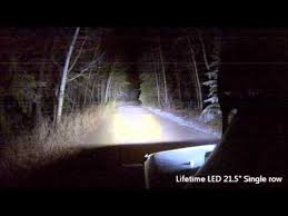 led light bar comparison lifetime led light bar comparison youtube