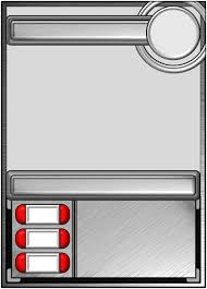 custom card template card game template free card template