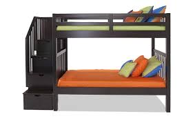 1 800 Bunk Beds Keystone Stairway Bunk Bed Bob S Discount Furniture